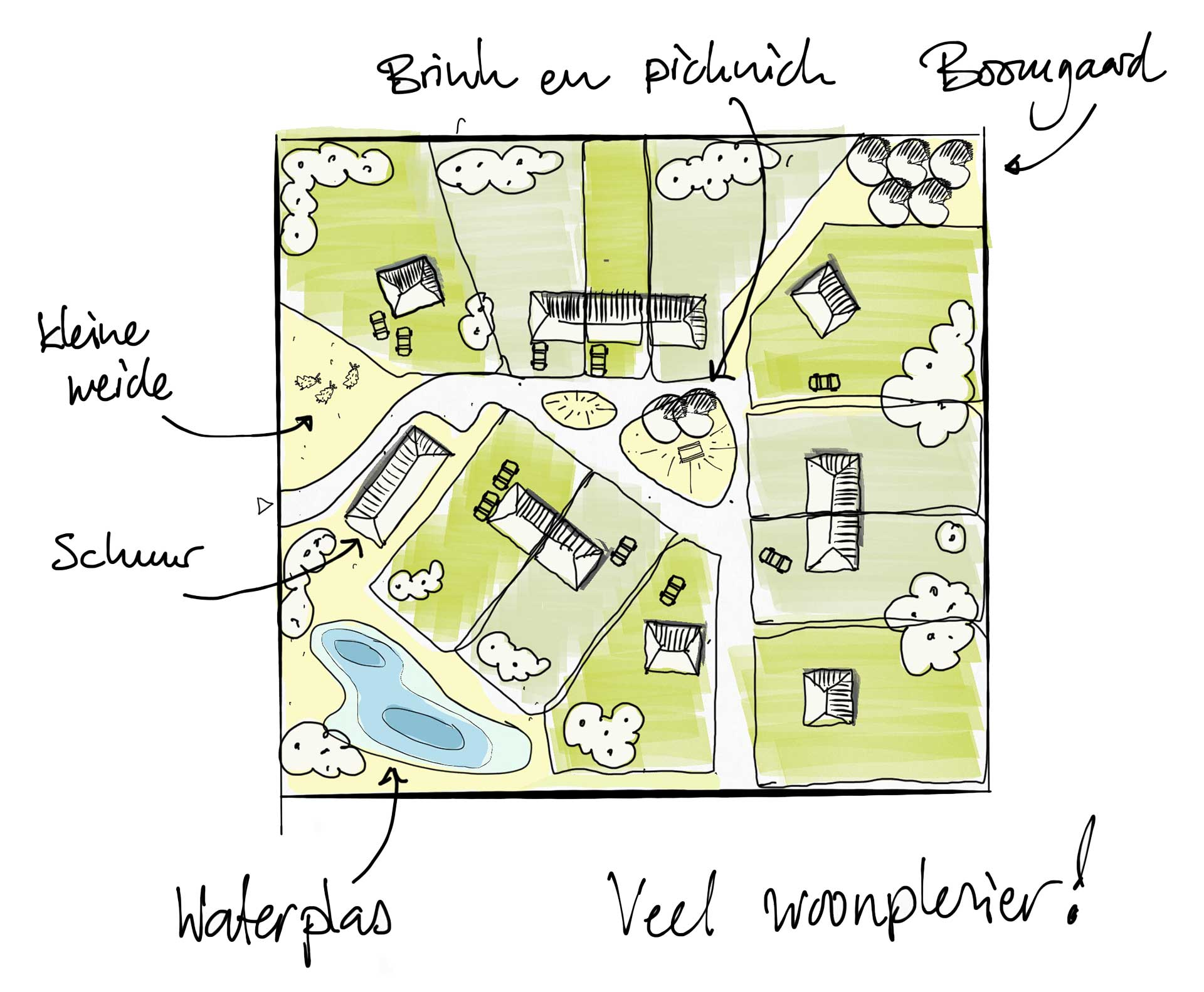 Verkaveling De Nederzetting Oosterwold Almere